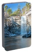 December Morning At Awosting Falls 2018 Portable Battery Charger