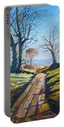 Deciduous Trees Portable Battery Charger
