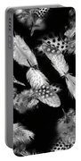 Decorated In Black And White Portable Battery Charger