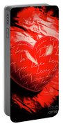 Decorated Romance Portable Battery Charger