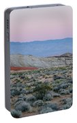Desert On Fire No.2 Portable Battery Charger