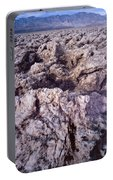 Devil's Golf Course Cloudy Morning Portable Battery Charger