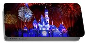 Disneyland 60th Anniversary Fireworks Portable Battery Charger