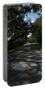 Dixie Highway In Micanopy Florida Portable Battery Charger