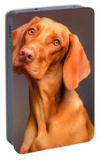 Dog Portrait Portable Battery Charger