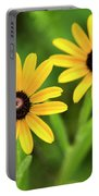 Double Daisies Portable Battery Charger