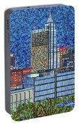 Downtown Raleigh - City At Night Portable Battery Charger