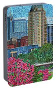 Downtown Raleigh Portable Battery Charger
