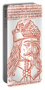 Dracula Or Vlad Tepes, 1491 Woodcut Portable Battery Charger