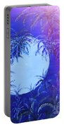 Dream By The Tropical Moon Portable Battery Charger