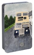 Dublin Bus Painting Portable Battery Charger