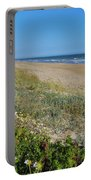 Dunes Wooden Fence Portable Battery Charger