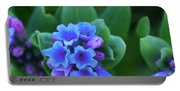 Dwarf Bluebell Detail Portable Battery Charger