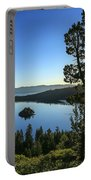 Early Morning Emerald Bay Portable Battery Charger