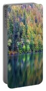 Echo Lake Autumn Shore Portable Battery Charger