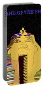 Egyptian Night Travel Poster A Portable Battery Charger