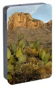 El Capitan With Cactus Portable Battery Charger