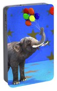 Elephant Celebration Portable Battery Charger