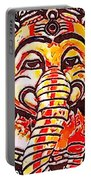 Elephant Face Portable Battery Charger