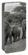 Elephant Herd Portable Battery Charger