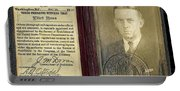 Eliot Ness Treasury Id Portable Battery Charger