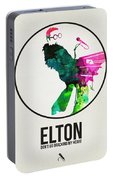 Elton Watercolor Poster Portable Battery Charger