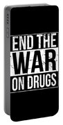 End The War On Drugs Portable Battery Charger