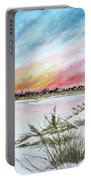 Ephemeral Sunset Portable Battery Charger