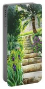 Escaliers A Villefranche Portable Battery Charger