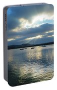 Evening On Windermere In Lake District National Park Portable Battery Charger