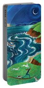 Evening Sea Breezes Portable Battery Charger