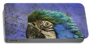 Blue Exotic Parrot- Pirates Of The Caribbean Portable Battery Charger