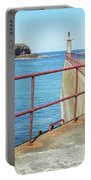 Eyemouth Harbour Pier Entrance Portable Battery Charger