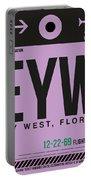 Eyw Key West Luggage Tag I Portable Battery Charger