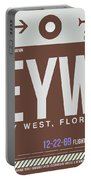 Eyw Key West Luggage Tag II Portable Battery Charger