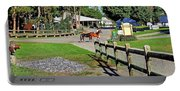 Fairgrounds In Rhinebeck New York Portable Battery Charger