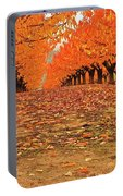 Fall Cherry Trees Portable Battery Charger
