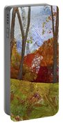 Fall Colors I Portable Battery Charger by Shadia Derbyshire