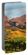 Fall Colors On The North Face Of Pikes Peak Portable Battery Charger
