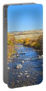 Fall Foliage In Idaho Portable Battery Charger by Dart and Suze Humeston