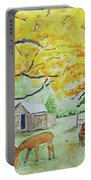 Fall Fun Portable Battery Charger