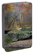 Fall On The Kings River Portable Battery Charger