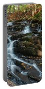 Falling Waters In October Portable Battery Charger