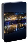 Fantastic Belgrade Night Reflection Portable Battery Charger