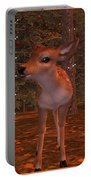 Fawns At Dawn Portable Battery Charger