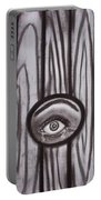 Fear - Eye Through Fence Portable Battery Charger
