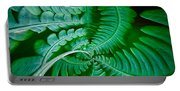 Fern Dance Portable Battery Charger
