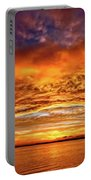 Fire Over Lake Eustis Portable Battery Charger