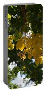 First Golden Leaves Portable Battery Charger