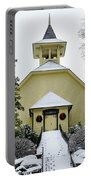 First Presbyterian Church In The Snow Portable Battery Charger